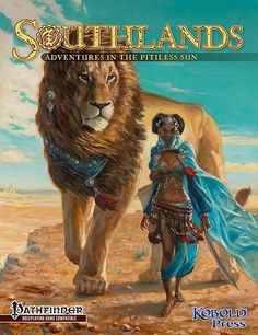 Southlands Campaign Setting (Hardcover) The lion looks lik aslan