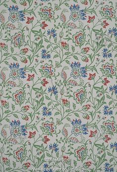 Brentwood wallpaper, by William Morris. England, late 19th century