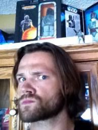 Jared Padalecki and his Boba Fett collection. I knew there was a reason I liked him....