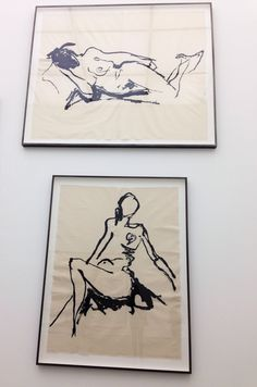 Embroideries Tracey Emin Exhibition 'the last great adventure is you' at the White cube gallery, London