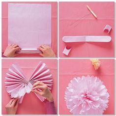 Tissue paper Pom Pom