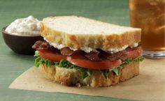Bacon Bacon BLTs Recipe │The perfect sandwich for those busy summer nights.