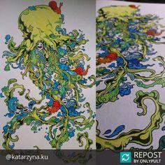 @katarzyna.ku Awesome! #doodleinvasion #inwazjabazgrołów #inwazjabazgrolow #drawingforadults #colouring #colouringforadults #kolorowanka #kolorowankadladorosłych #chillout #nostress #doodle