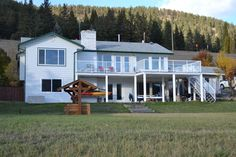 Williams+Lake+Waterfront+Property+for+sale:++4+bedroom+3,000+sq.ft.+(Listed+2017-10-24) Williams Lake, Waterfront Property, Property For Sale, Shed, Real Estate, Outdoor Structures, Cabin, Bedroom, House Styles