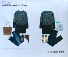 Stitch Fix October 2015 RD Style Marella Sweater Tunic