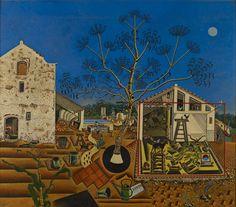 Joan Miro - La Ferme (1922)