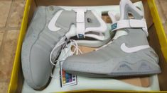 best cheap d62cc 7c61b Details about Nike Air Mag Universal Back To The Future Shoes
