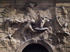 Robert Le Lorrain, The Horses of the Sun c. 1736 Plaster Hôtel de Rohan, Paris