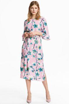 Kleid   Hellrosa/Geblümt   DAMEN   H&M DE