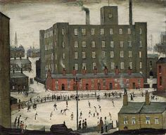 Laurence Stephen Lowry A Cricket Match, 1952 x 54 cm) Shadow Quotes, Cleveland Art, Cricket Match, Sense Of Place, Urban Landscape, Banksy, Art Blog, Art Gallery, Film