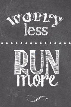 #runUNL Worry less, Run more