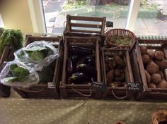 The good stuff... Try grilled aubergines or fresh potato salad  ...
