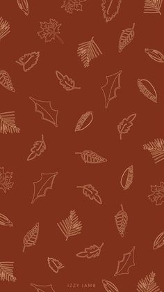 Autumn Phone Wallpaper, Leaves Wallpaper Iphone, Autumn Leaves Wallpaper, October Wallpaper, Cute Fall Wallpaper, Pretty Phone Wallpaper, Halloween Wallpaper Iphone, Calendar Wallpaper, Aesthetic Iphone Wallpaper
