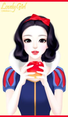 Find images and videos about girl, wallpaper and snow white on We Heart It - the app to get lost in what you love. Anime Korea, Korean Anime, Korean Art, Girl Iphone Wallpaper, Cute Girl Wallpaper, Pastel Wallpaper, Korean Illustration, Illustration Girl, Cafe Pictures