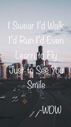 WDW Just to See You Smile Lyrics