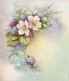 Цветочная нежность в картинах Sonie Ames...