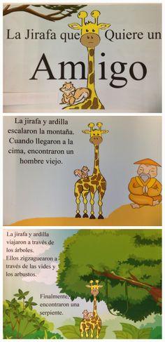 How to make Spanish children's books in class