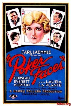 Poker Faces 1926, Starring Edward Everett Horton & Laura La Plante.  Dorothy Revier appeared in the film as Pug's wife.