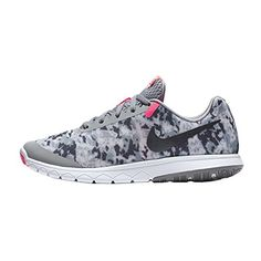 promo code ca65a 83f70 New Nike Womens Flex Experience RN 6 Premium Running Shoe GreyPink 8   Want  to know more, click on the image. (This is an affiliate link)  NikeShoes