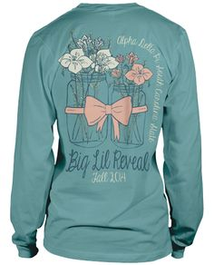 The cutest Big Little T Shirts around. Browse our collection of T-shirts for your special sorority event.
