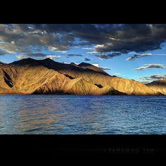 Pangong Lake by someone via Flickr
