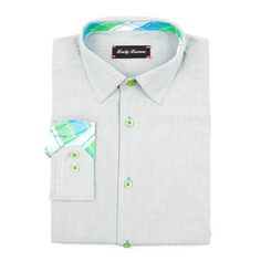 Lucky Luciano // Boss Pinstripes Shirt // Grey (M)