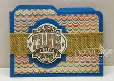 Stampin' Up! Envelope Punch Board Card by Debbie Henderson, Debbie's Designs.