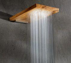 Terra Marique Natural Wood Shower Head