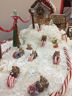 Gingerbread House - Ski-in/Ski-out Chalet. Teddy Graham Snow Mobiles, Reindeer Fire Pit, Rackspace, Ski Lift, Jolly Rancher Pond, Marshmallow Paint