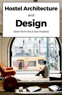 Hostel Architecture – 12 Hostel Buildings to admire from the in- and outside! Many hostels in this world are located inside beautiful architectural buildings, even monuments. We had a look around. https://hostelnerds.com/hostel-architecture-plan/ #hostels #archictecture #hosteldesign