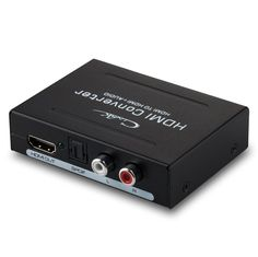 Cingk Audio Extractor - HDMI to HDMI+Optical TOSLINK SPDIF Converter Splitter Adapter with 3.5mm Audio cable R / L