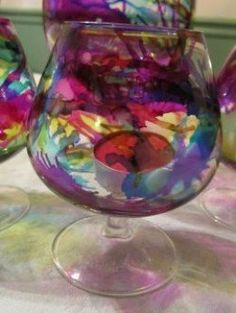 Using Alcohol Ink on Glass is very easy, and very pretty! I had several colors of Adirondack Alcohol Ink that I had used for making cards, and I wanted to see how to use Alcohol Inks on glass for other projects. I saw this fun project on Pinterest,...