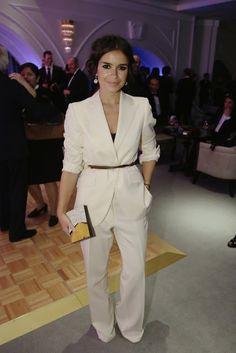 Mira Duma...why not belt a suit?...