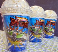 Hot Wheels  Birthday Party Popcorn Boxes by PoshBoxCouture2