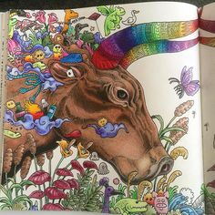"""""""14/2- 16 I'm #impressed by his work❤️ #colourpencils #fabercastell #mindfulness…"""
