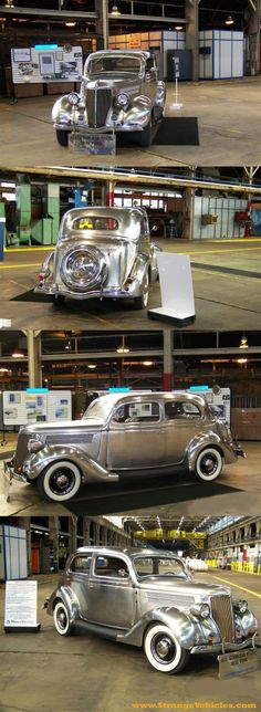 1936 Ford ,Stainless Steel Body, 6 where produced.