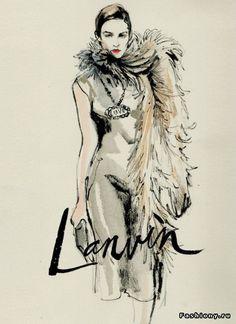 Fashion-иллюстратор Regina Yazdi