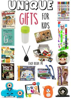 Unique Gifts for Kids- With a super cool giveaway!!