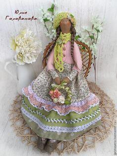 """Купить ТИЛЬДА КУКЛА """"Весенняя пастель"""" - кукла Тильда, тильда, тильда кукла…"""