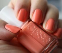 #pinoftheday Essie Peach Sorbet