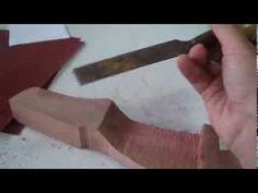 Guia do Arqueiro : Projeto de riser (empunhadura) para arco recurvo - como fazer seu arco