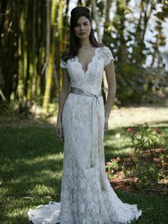 dress informal simple wedding
