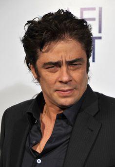 """Benicio Del Toro Producer/actor Benicio Del Toro arrives at the 2008 AFI Fest centerpiece gala screening of """"Che"""" held at The Grauman's Chin... #movies #actors #beniciodeltoro"""