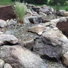 For starters, look for a reputable contractor that is certified and has experience. A Certified Aquascape Contractor has proven to possess pond building experie… Outdoor Water Features, Water Features In The Garden, Pond Design, Garden Landscape Design, Ponds Backyard, Backyard Waterfalls, Garden Ponds, Koi Ponds, Garden Water