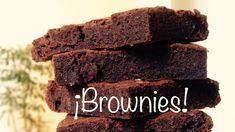 Una receta de brownies super fácil y rápida 🍫 Chocolate, Brownies, Desserts, Food, Recipes, Tailgate Desserts, Deserts, Schokolade, Essen