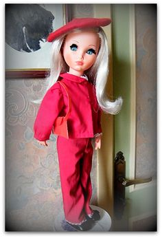Sylvie, the lady in red ....