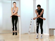Adriana Lima Work Out Style