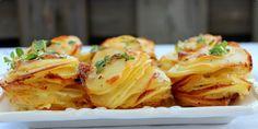 Hrpice od krompira i parmezana ( Parmesan potato stack ) — Coolinarika