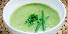 Supa crema de ceapa verde