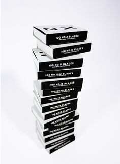 X-Acto Blades by heesang lee, via Behance